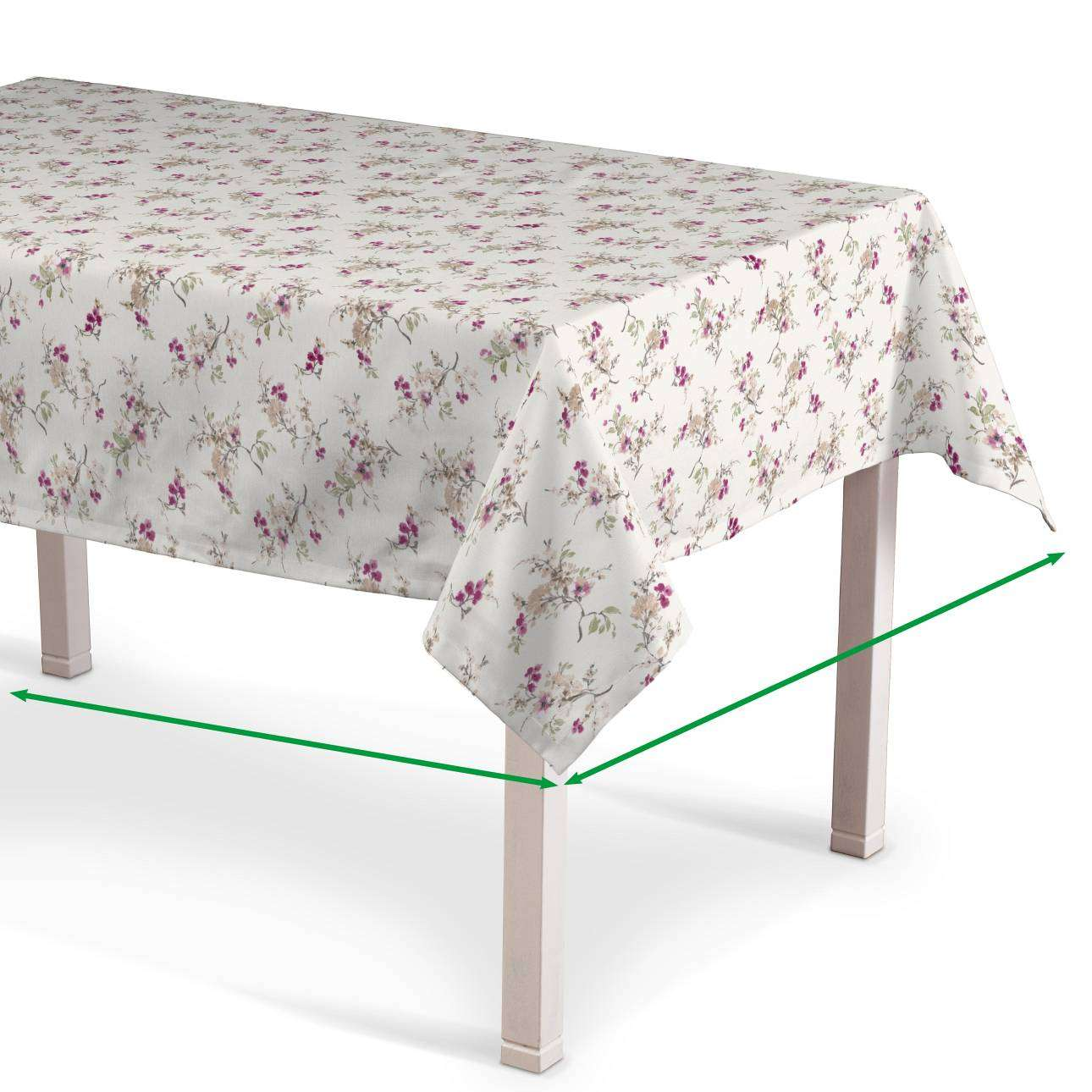 Rectangular tablecloth in collection Mirella, fabric: 141-13