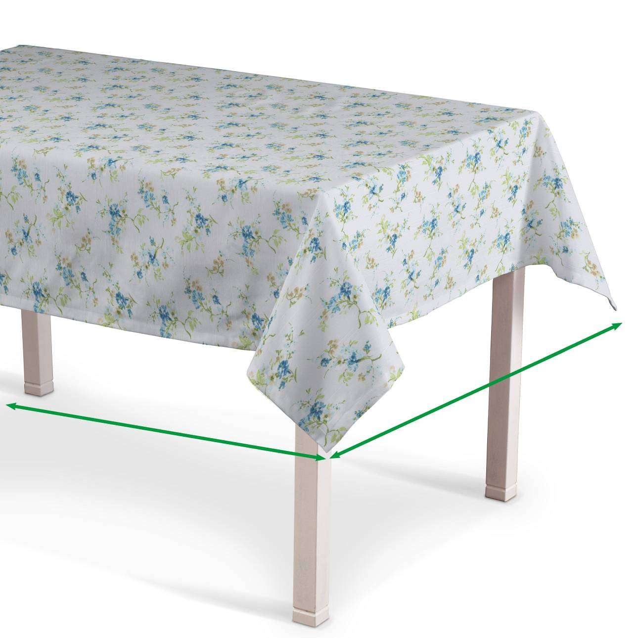 Rectangular tablecloth in collection Mirella, fabric: 141-16