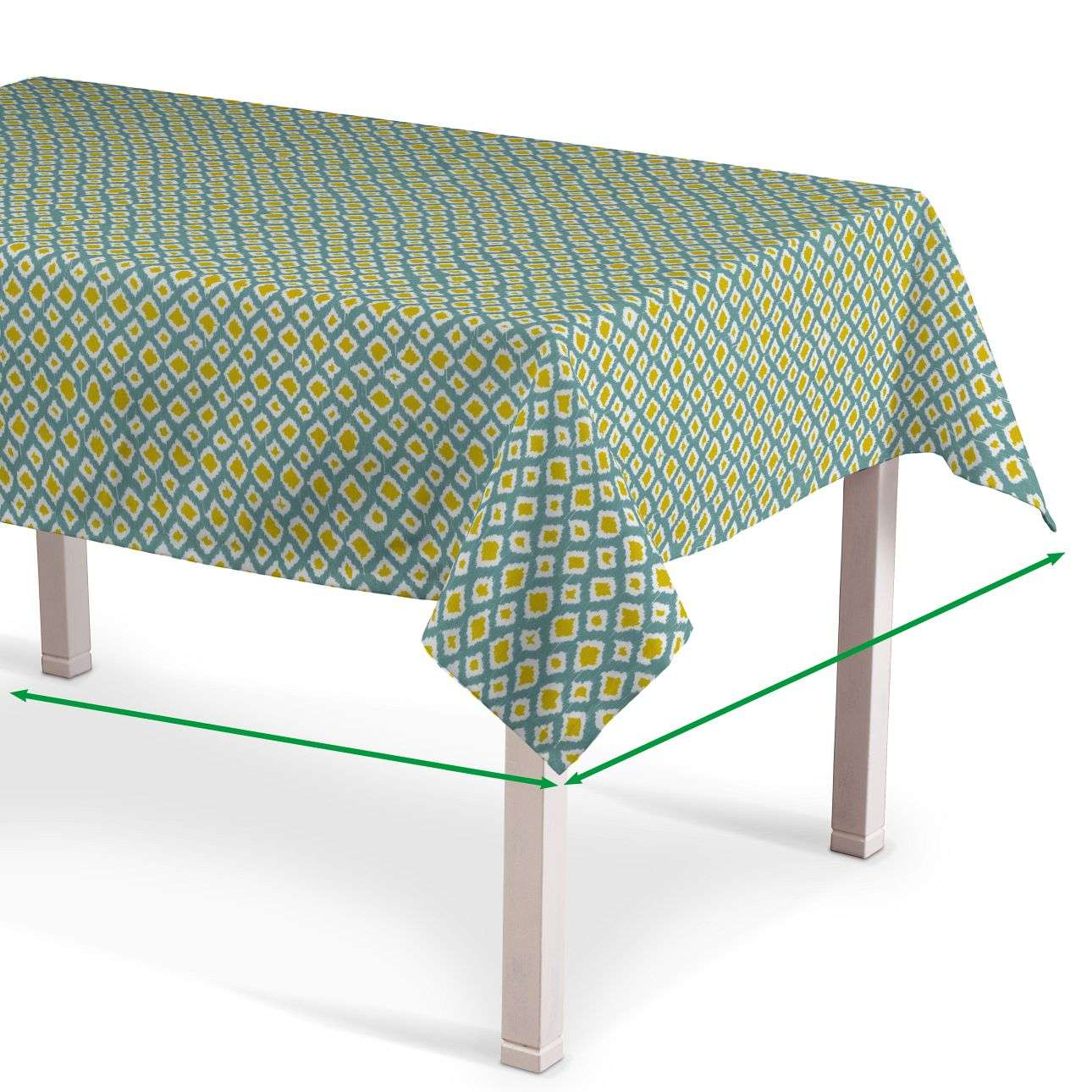 Rectangular tablecloth in collection Comic Book & Geo Prints, fabric: 141-20