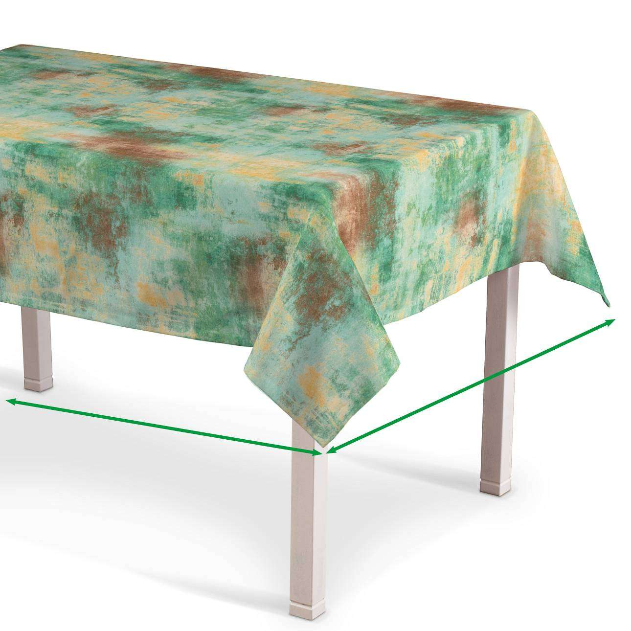 Rectangular tablecloth in collection Urban Jungle, fabric: 141-22