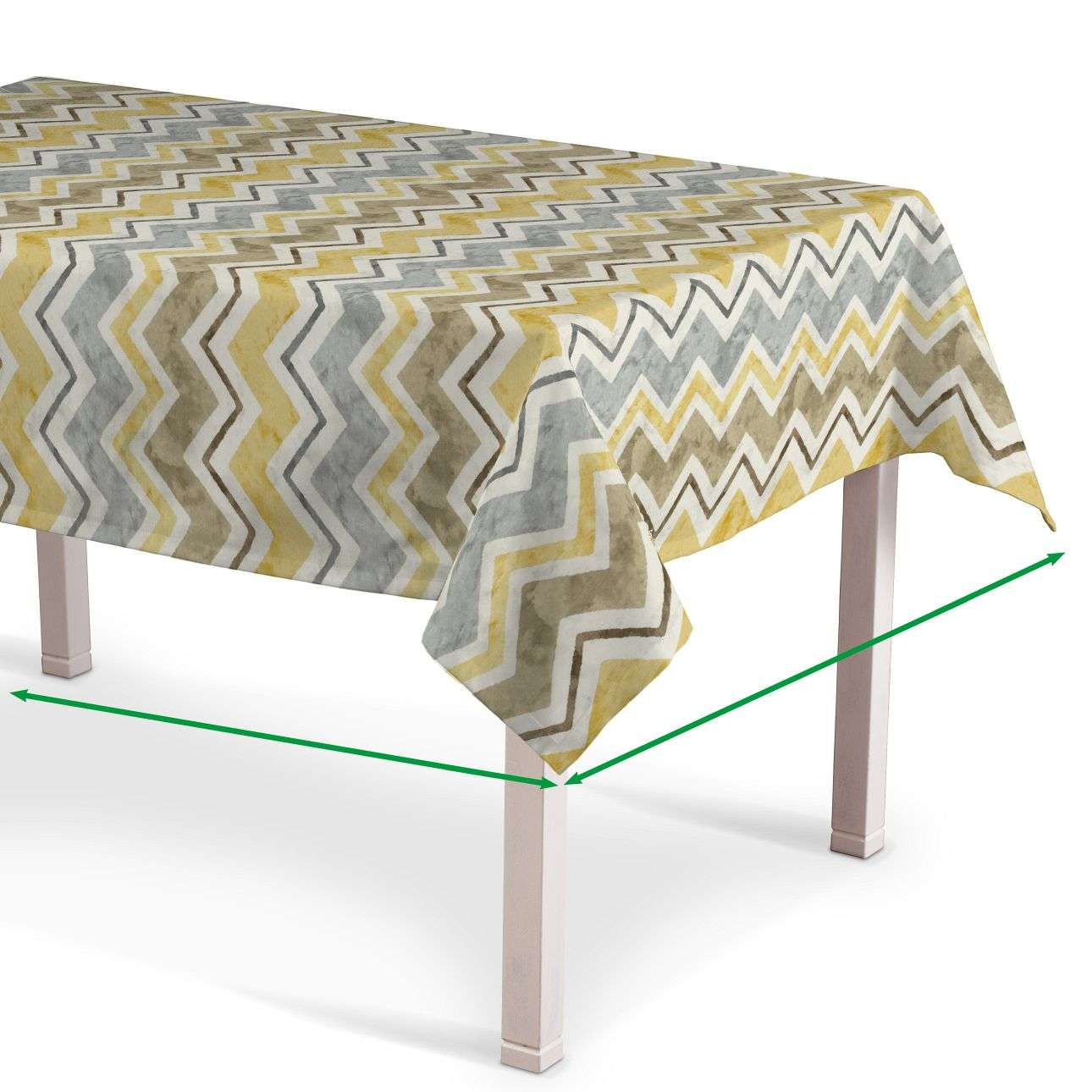 Rectangular tablecloth in collection Acapulco, fabric: 141-39