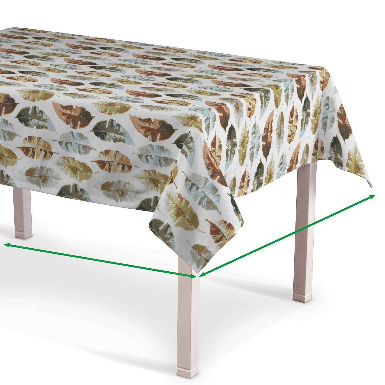 Rectangular tablecloth in collection Urban Jungle, fabric: 141-43
