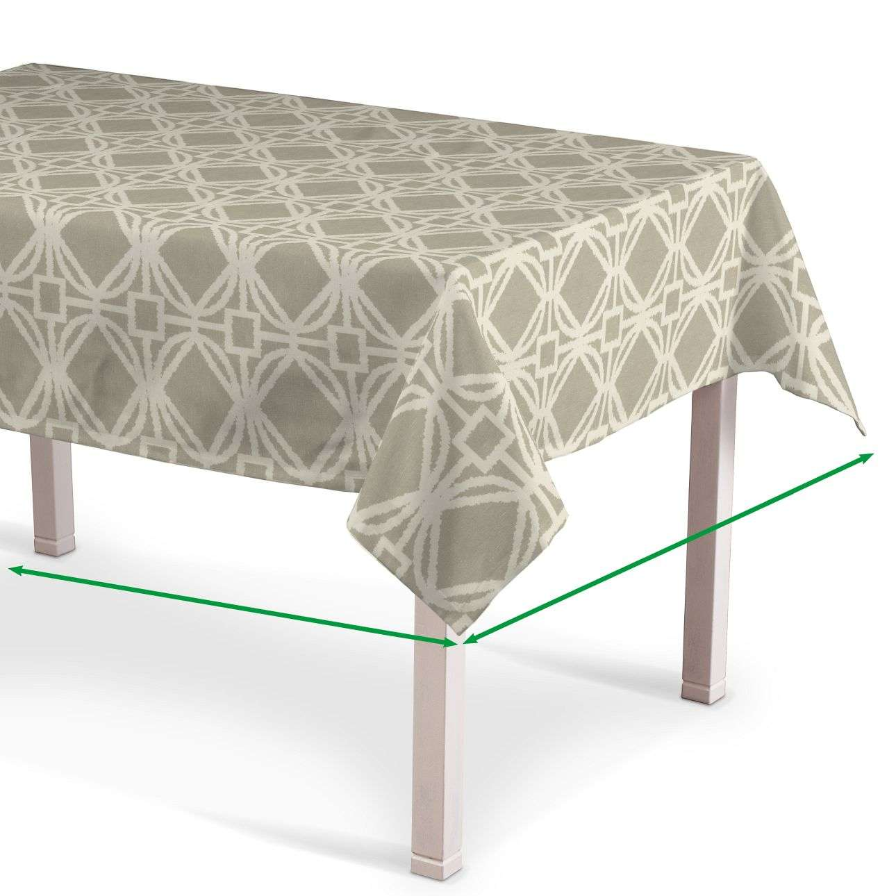 Rectangular tablecloth in collection Comic Book & Geo Prints, fabric: 141-56