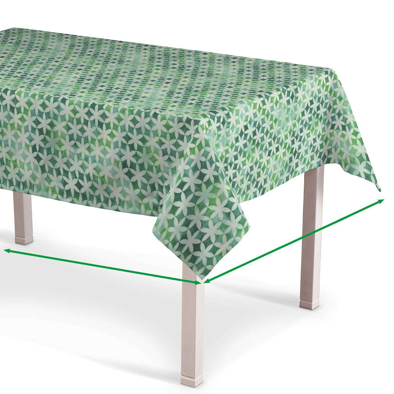 Rectangular tablecloth in collection Urban Jungle, fabric: 141-65