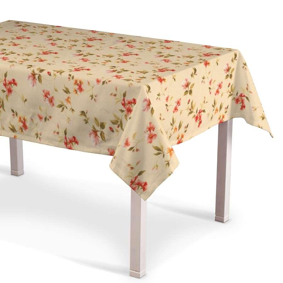 Rektangulær bordduk fra kolleksjonen Londres , Stoffets bredde: 124-05