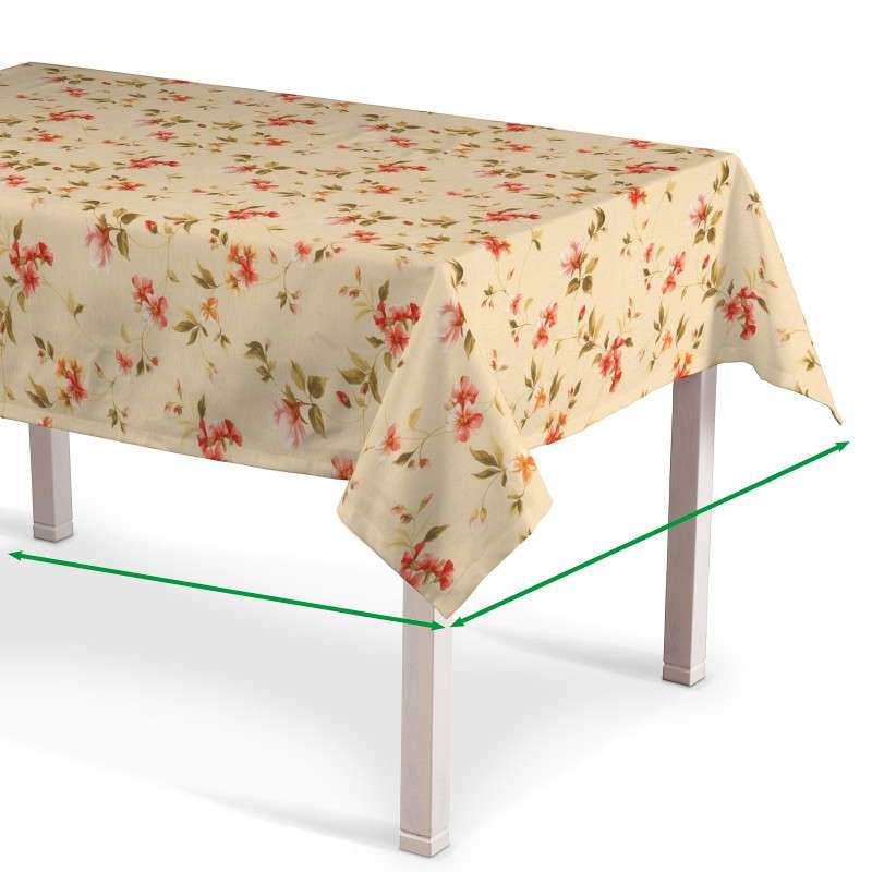 Rectangular tablecloth in collection Londres, fabric: 124-05
