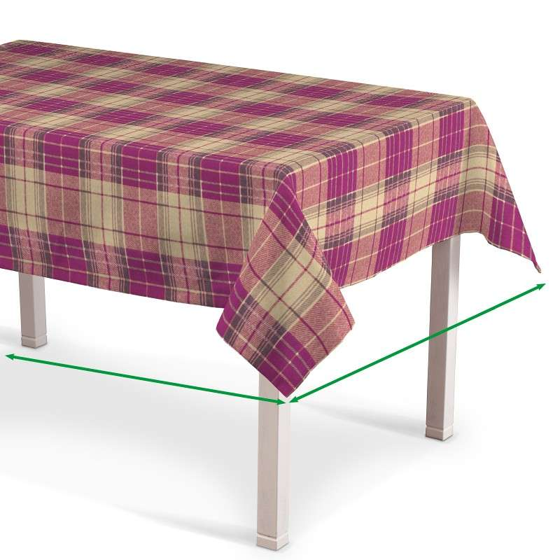 Rectangular tablecloth in collection Mirella, fabric: 142-07