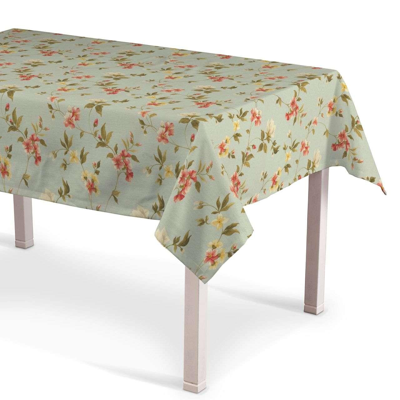 Rechteckige Tischdecke von der Kollektion Londres, Stoff: 124-65