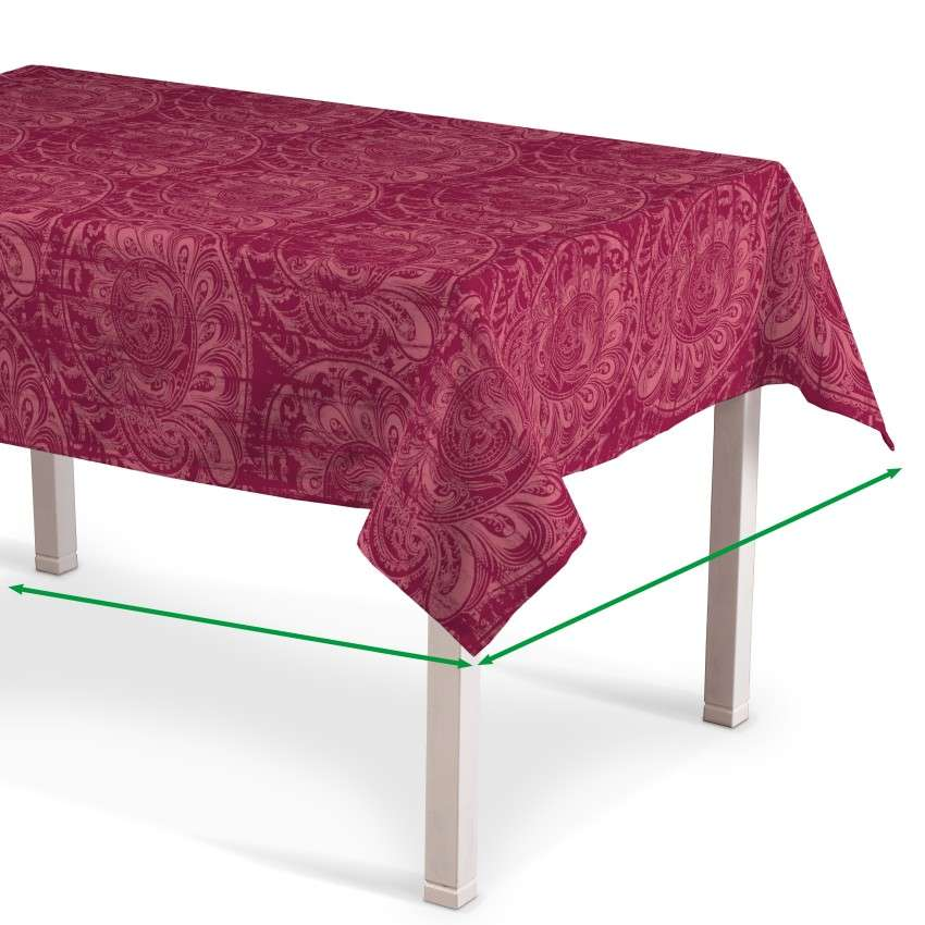 Rectangular tablecloth in collection Mirella, fabric: 143-06