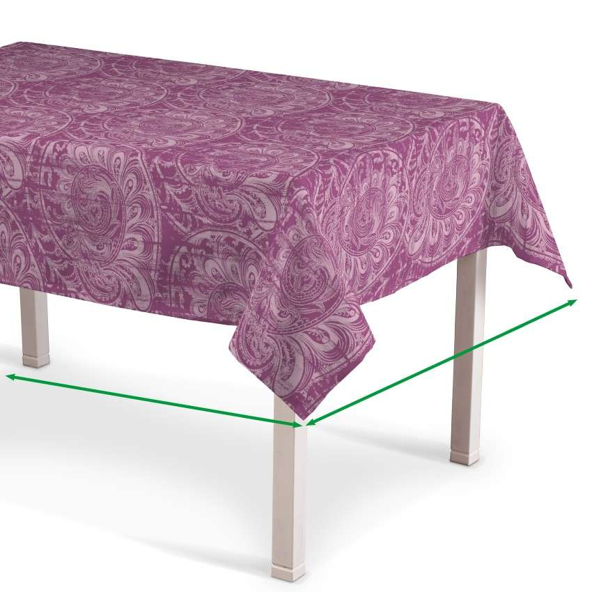 Rectangular tablecloth in collection Mirella, fabric: 143-07
