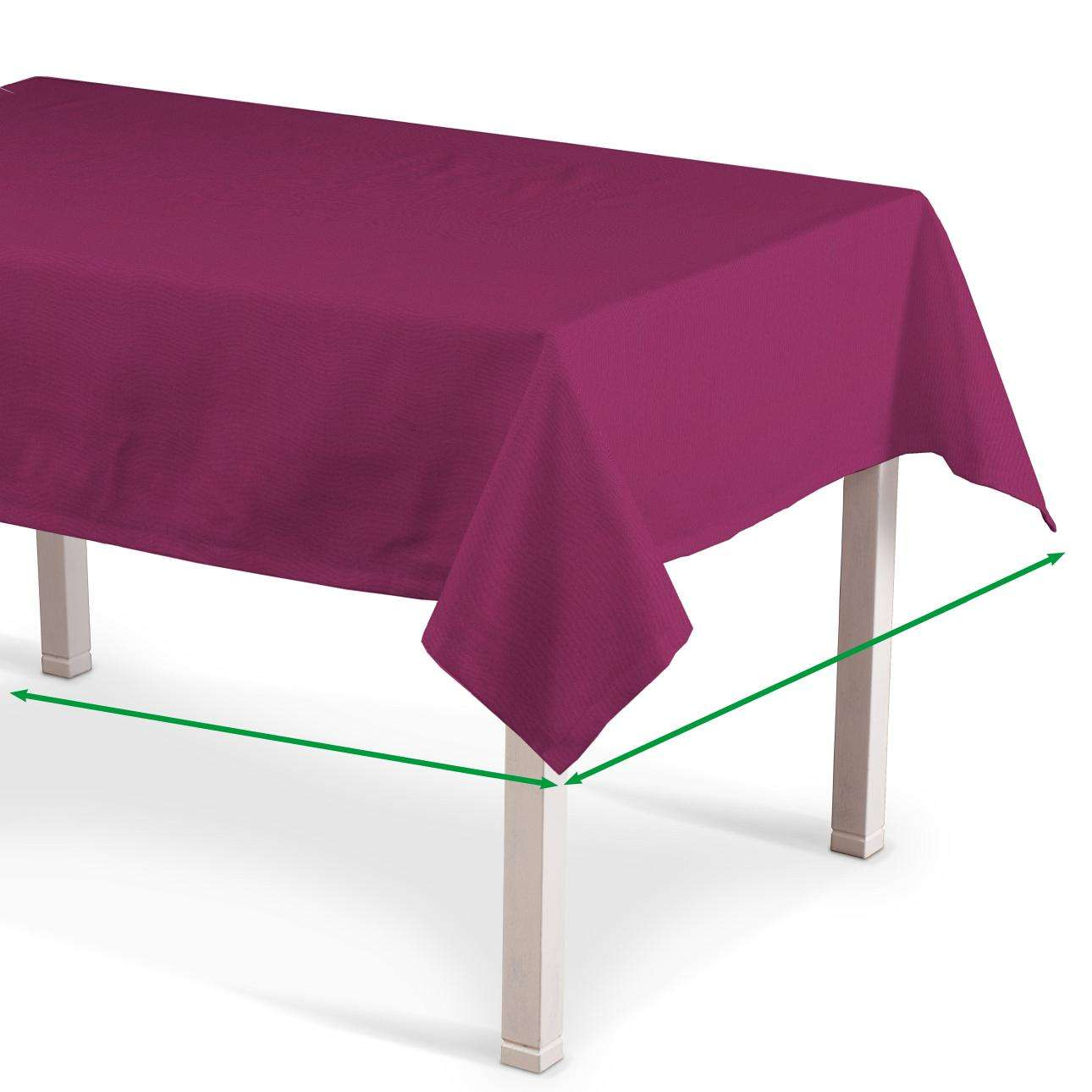 Rectangular tablecloth in collection Milano, fabric: 150-31
