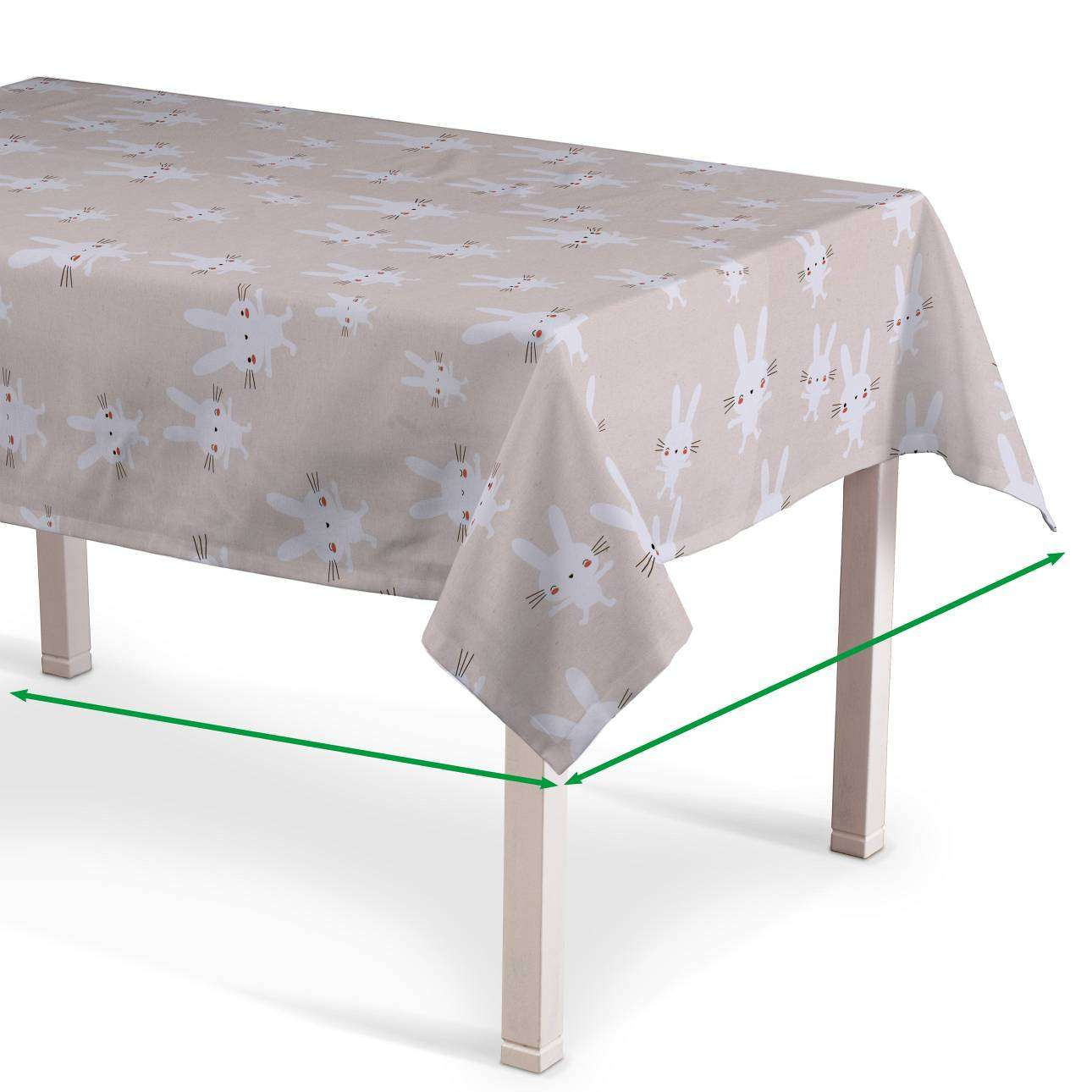 Rectangular tablecloth in collection Apanona, fabric: 151-00