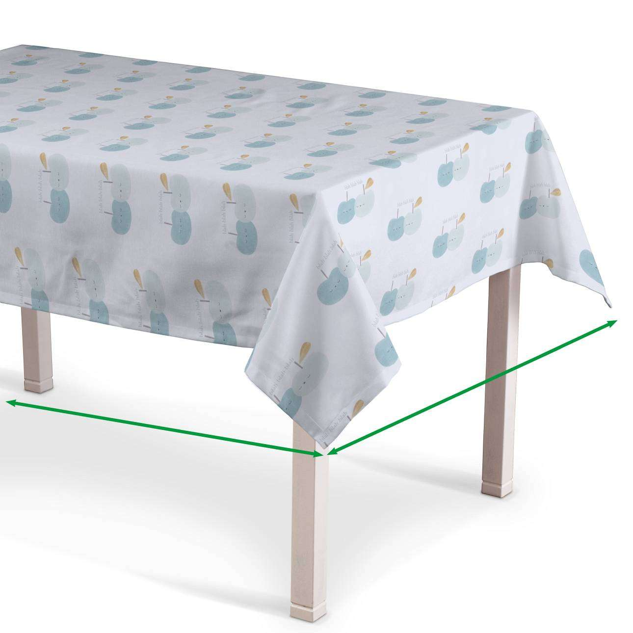 Rectangular tablecloth in collection Apanona, fabric: 151-02