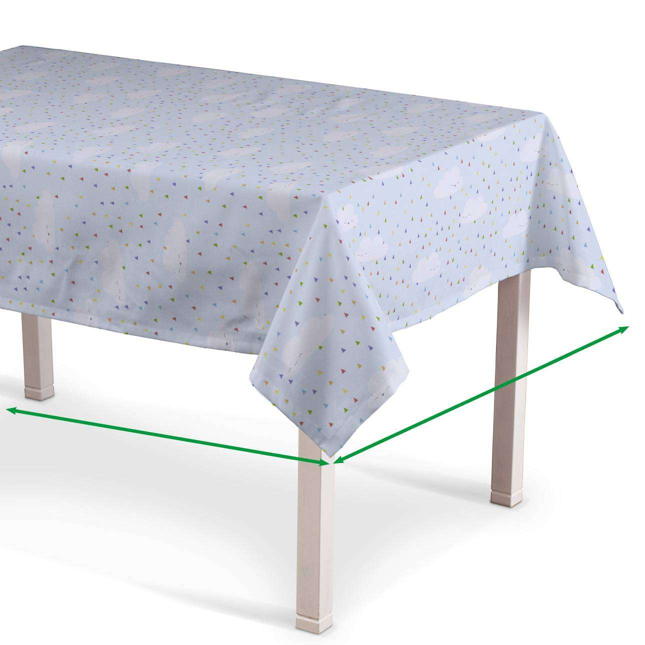 Rectangular tablecloth in collection Apanona, fabric: 151-03