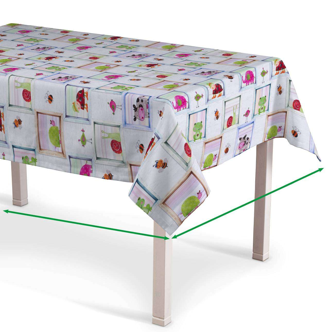 Rectangular tablecloth in collection Apanona, fabric: 151-04