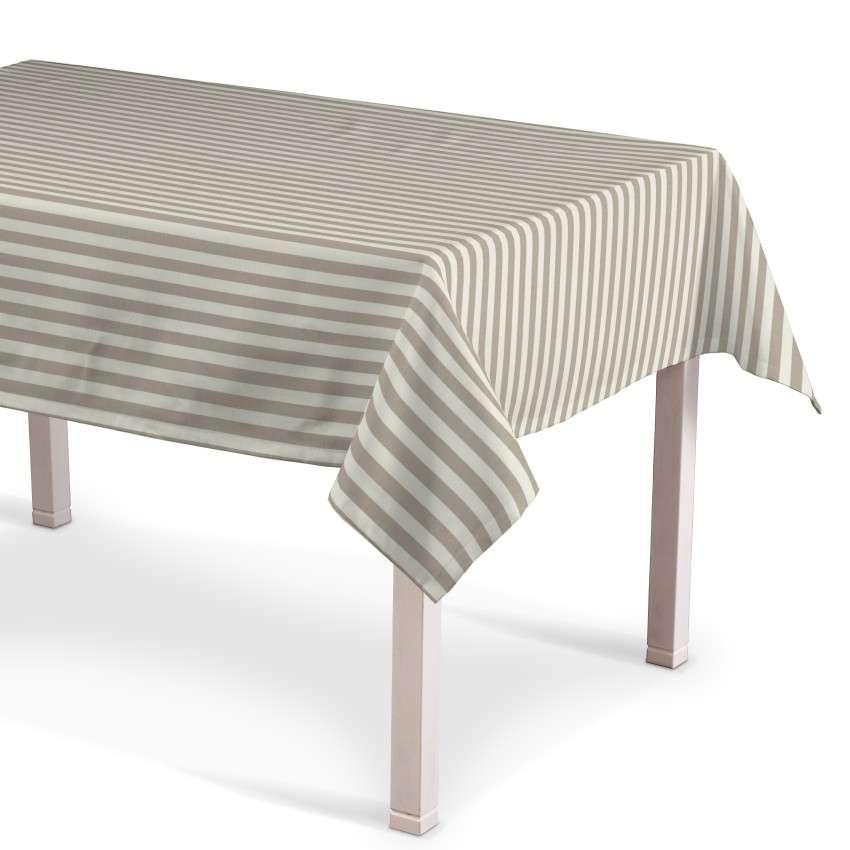Obrus na stôl obdĺžnikový V kolekcii Quadro, tkanina: 136-07