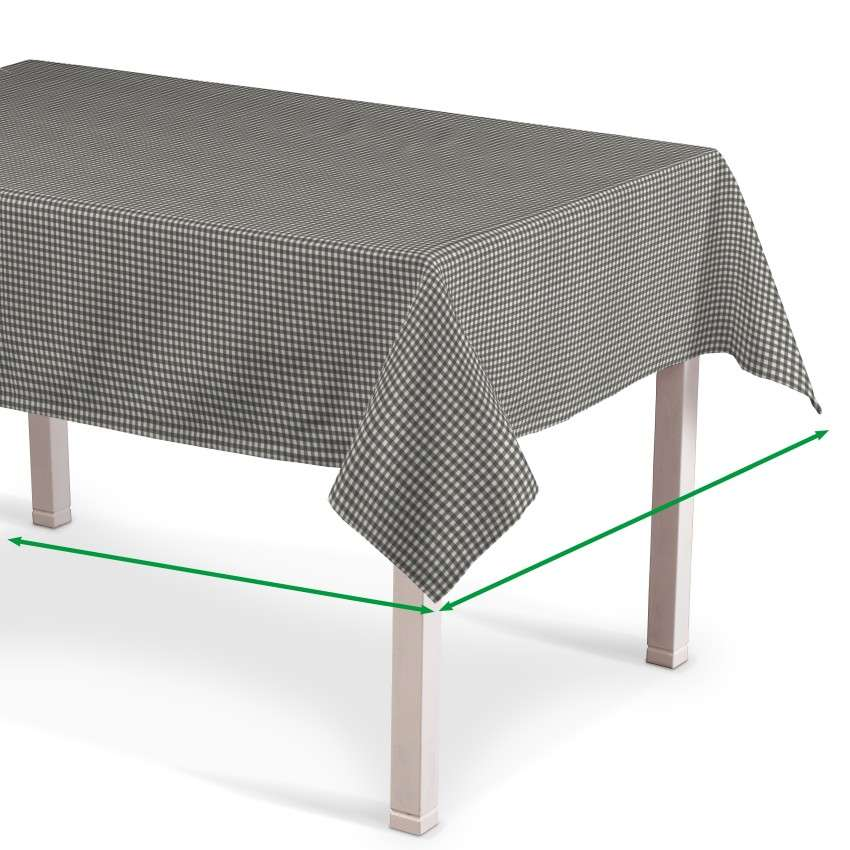 Rectangular tablecloth in collection Quadro, fabric: 136-10
