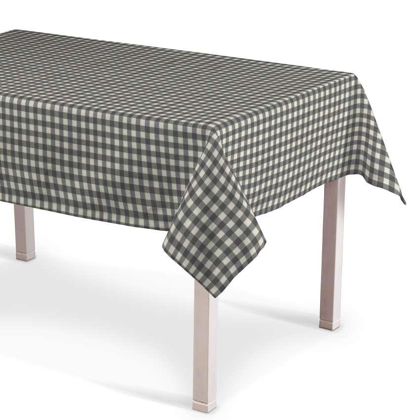 Obrus na stôl obdĺžnikový V kolekcii Quadro, tkanina: 136-11