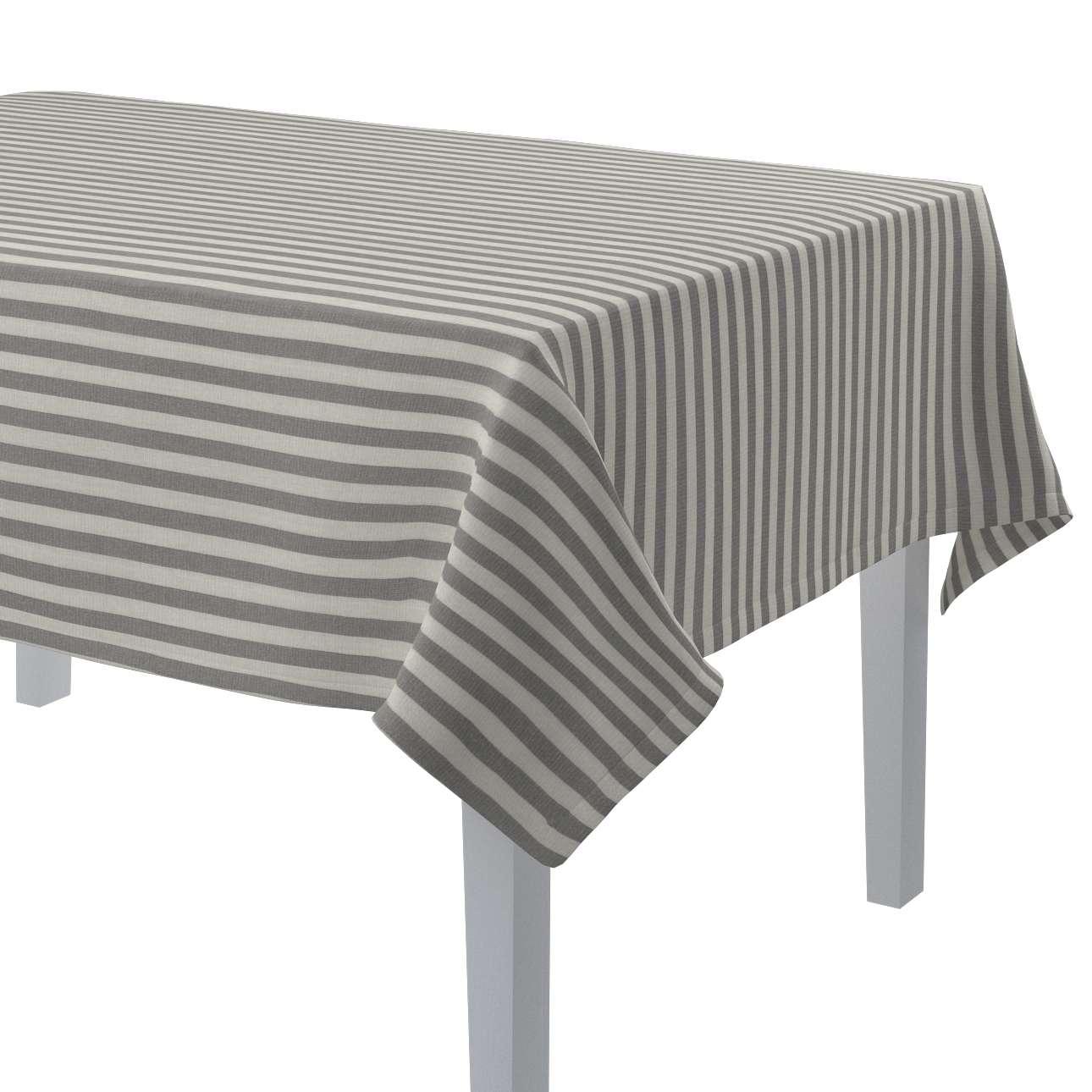 Obrus na stôl obdĺžnikový V kolekcii Quadro, tkanina: 136-12