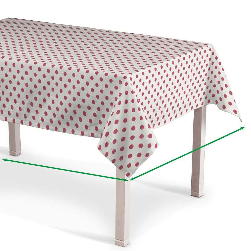 Rektangulär bordsduk i kollektionen Little World, Tyg: 137-70