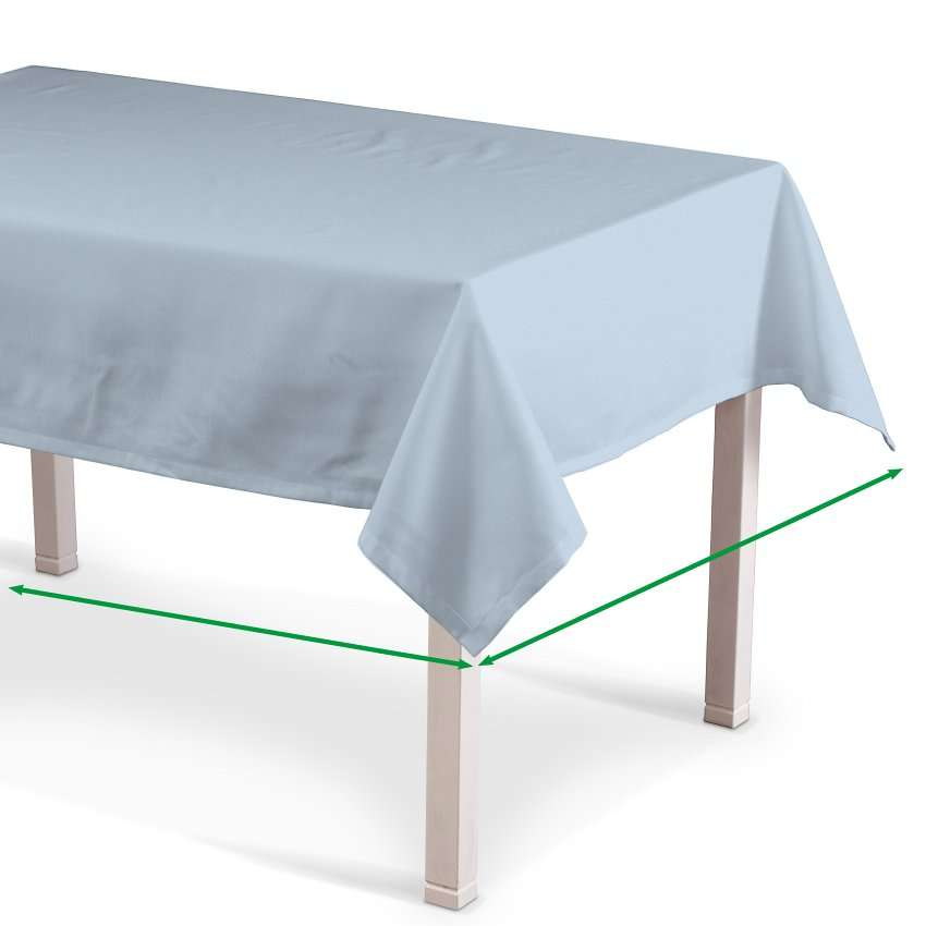 Rektangulære borddug fra kollektionen Loneta, Stof: 133-35