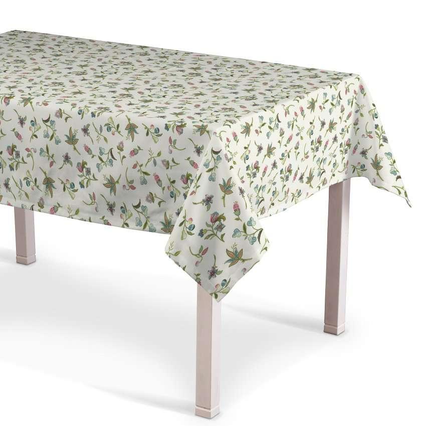 Obrus na stôl obdĺžnikový V kolekcii Londres, tkanina: 122-02