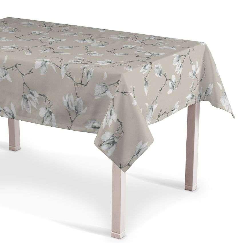 Rektangulær bordduk fra kolleksjonen Flowers, Stoffets bredde: 311-12