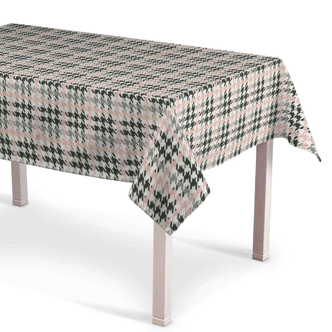 Rektangulær bordduk fra kolleksjonen RESTSALG, Stoffets bredde: 137-75