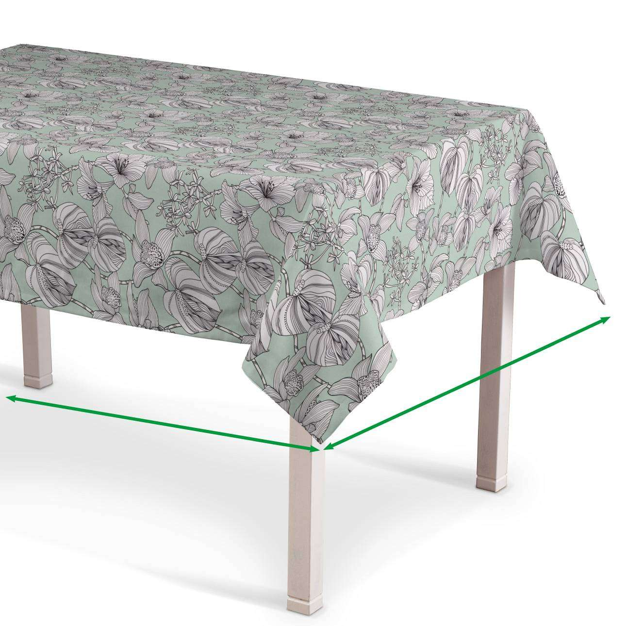 Rectangular tablecloth in collection SALE, fabric: 137-76