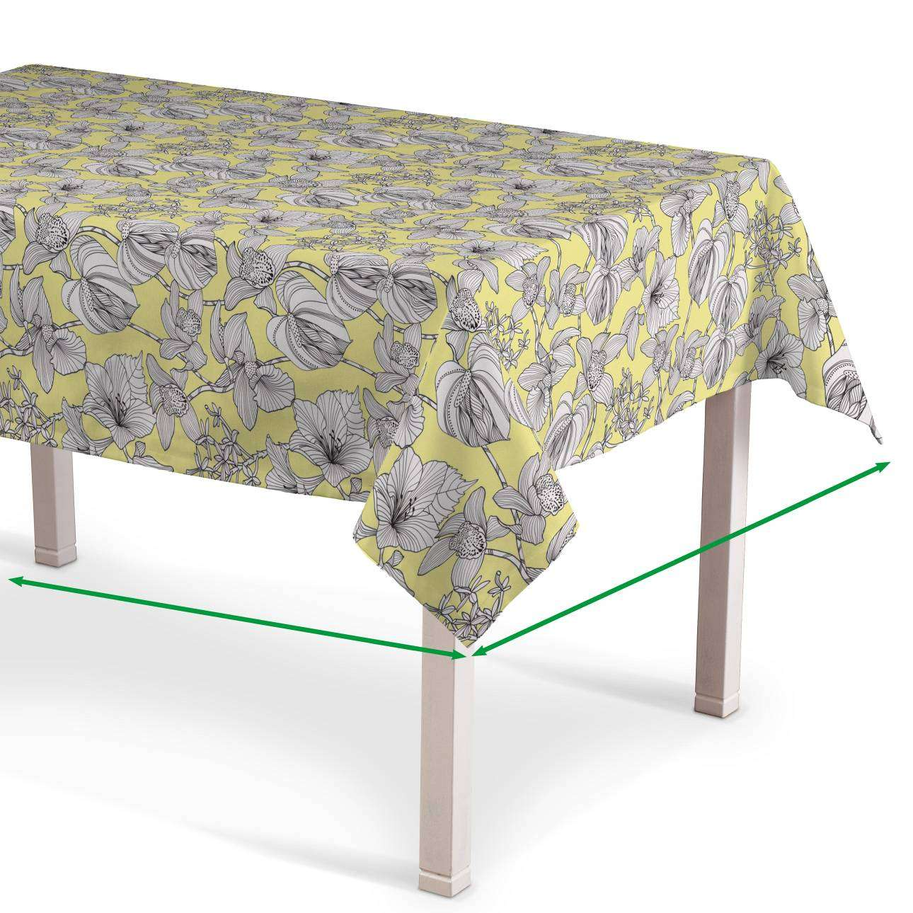 Rectangular tablecloth in collection SALE, fabric: 137-78