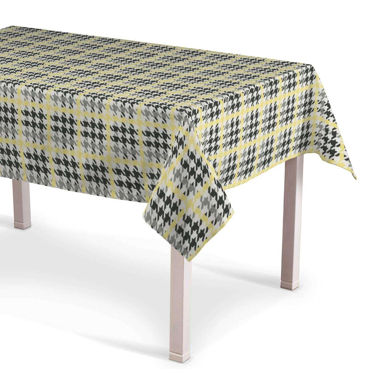 Rektangulär bordsduk  i kollektionen Brooklyn, Tyg: 137-79