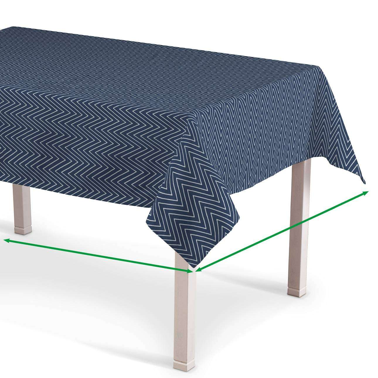 Rektangulär bordsduk  i kollektionen Brooklyn, Tyg: 137-88