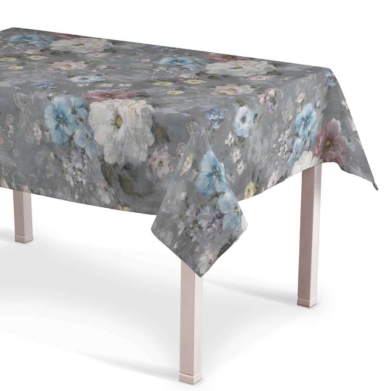 Rektangulär bordsduk i kollektionen Monet, Tyg: 137-81