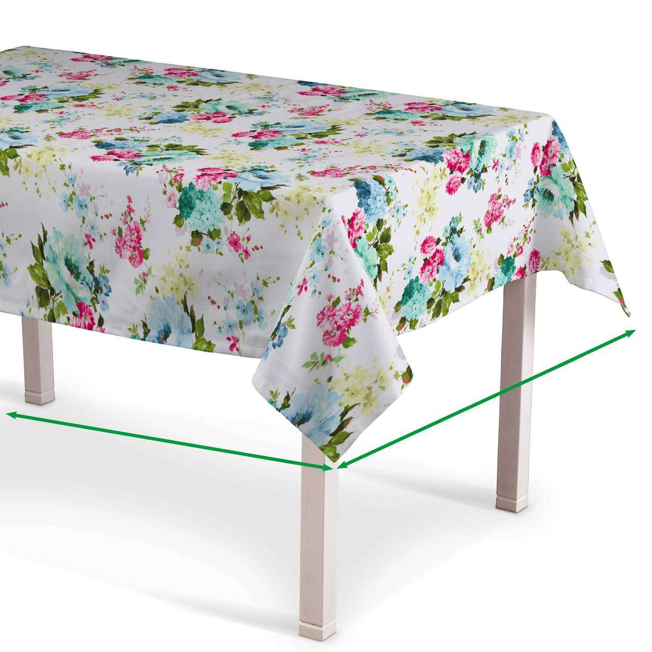 Rectangular tablecloth in collection Monet, fabric: 140-02