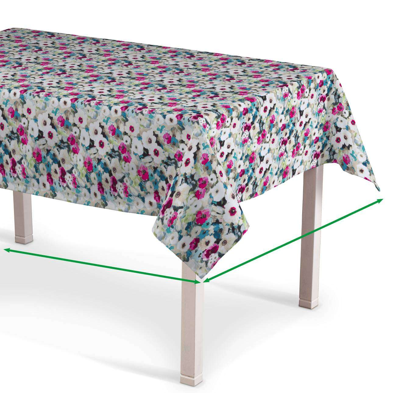 Rectangular tablecloth in collection Monet, fabric: 140-10