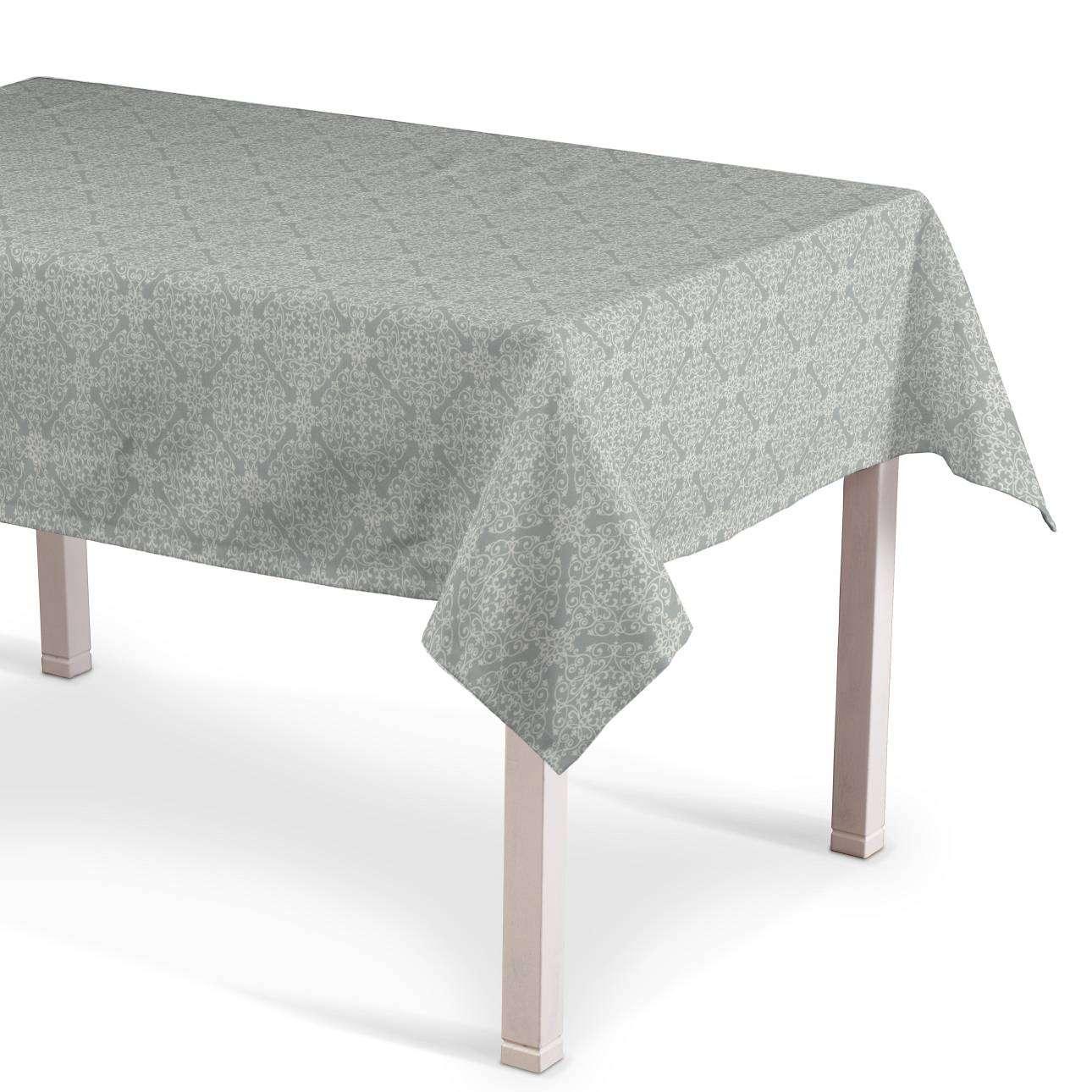 Obrus na stôl obdĺžnikový V kolekcii Flowers, tkanina: 140-38