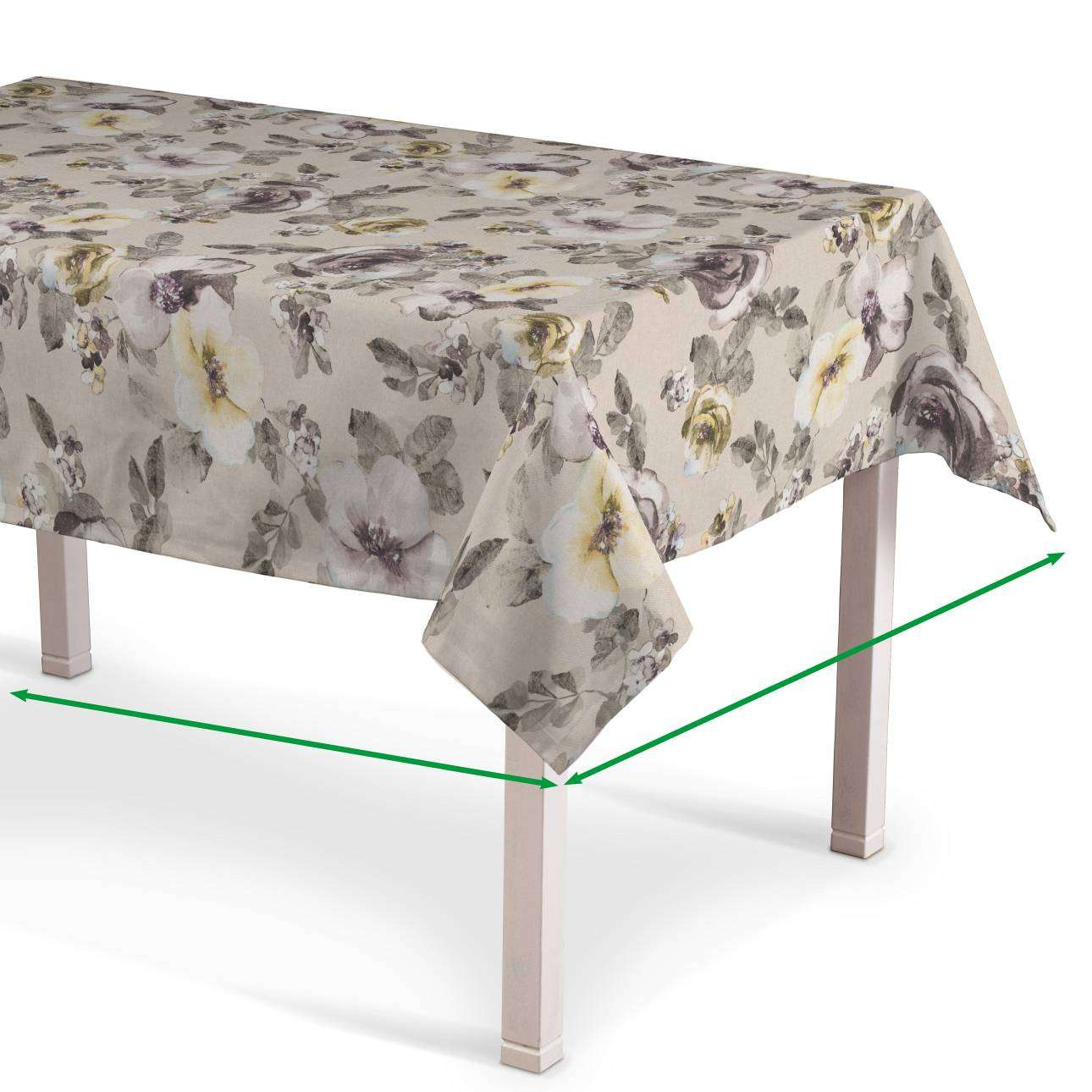 Rectangular tablecloth in collection Londres, fabric: 140-44