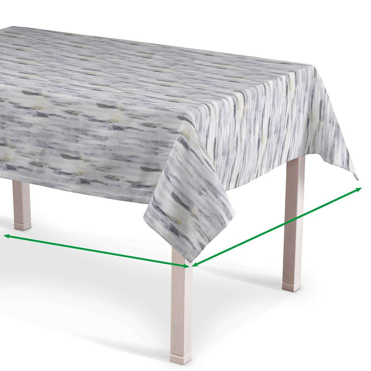 Rectangular tablecloth in collection Aquarelle, fabric: 140-66