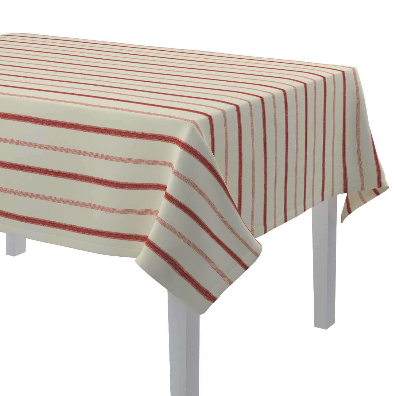Rektangulære borddug fra kollektionen Avinon, Stof: 129-15