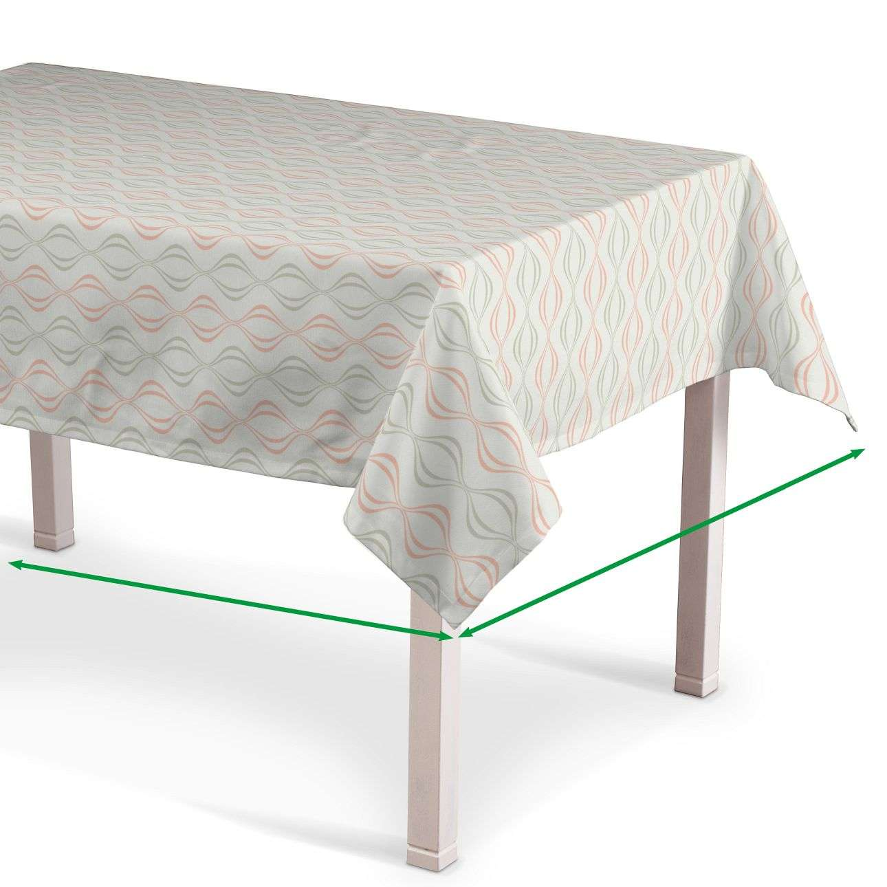 Rectangular tablecloth in collection SALE, fabric: 141-49