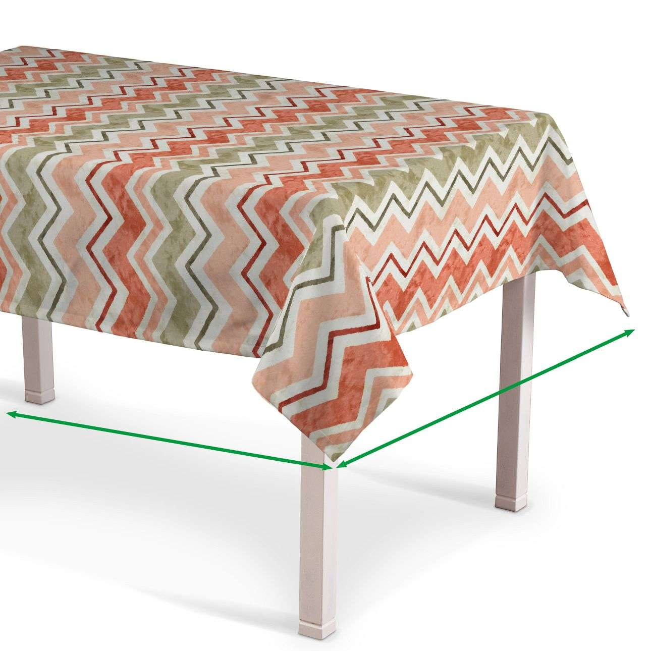 Rectangular tablecloth in collection Acapulco, fabric: 141-40