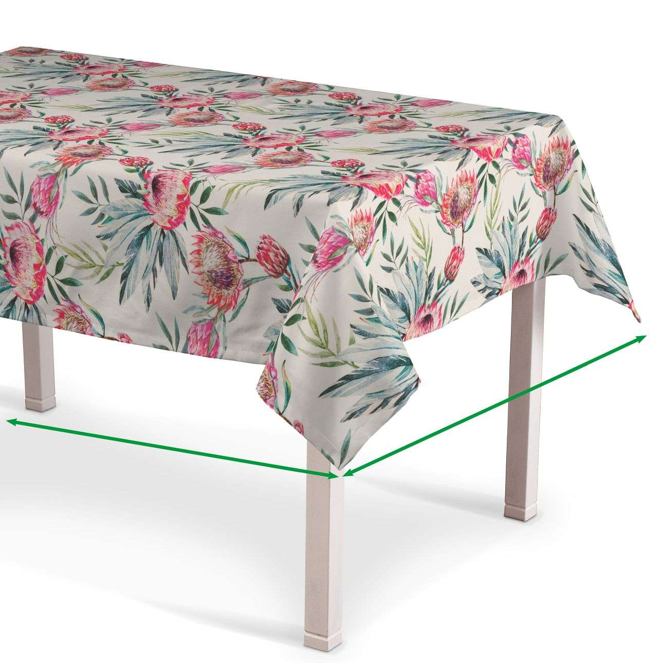 Rectangular tablecloth in collection New Art, fabric: 141-59
