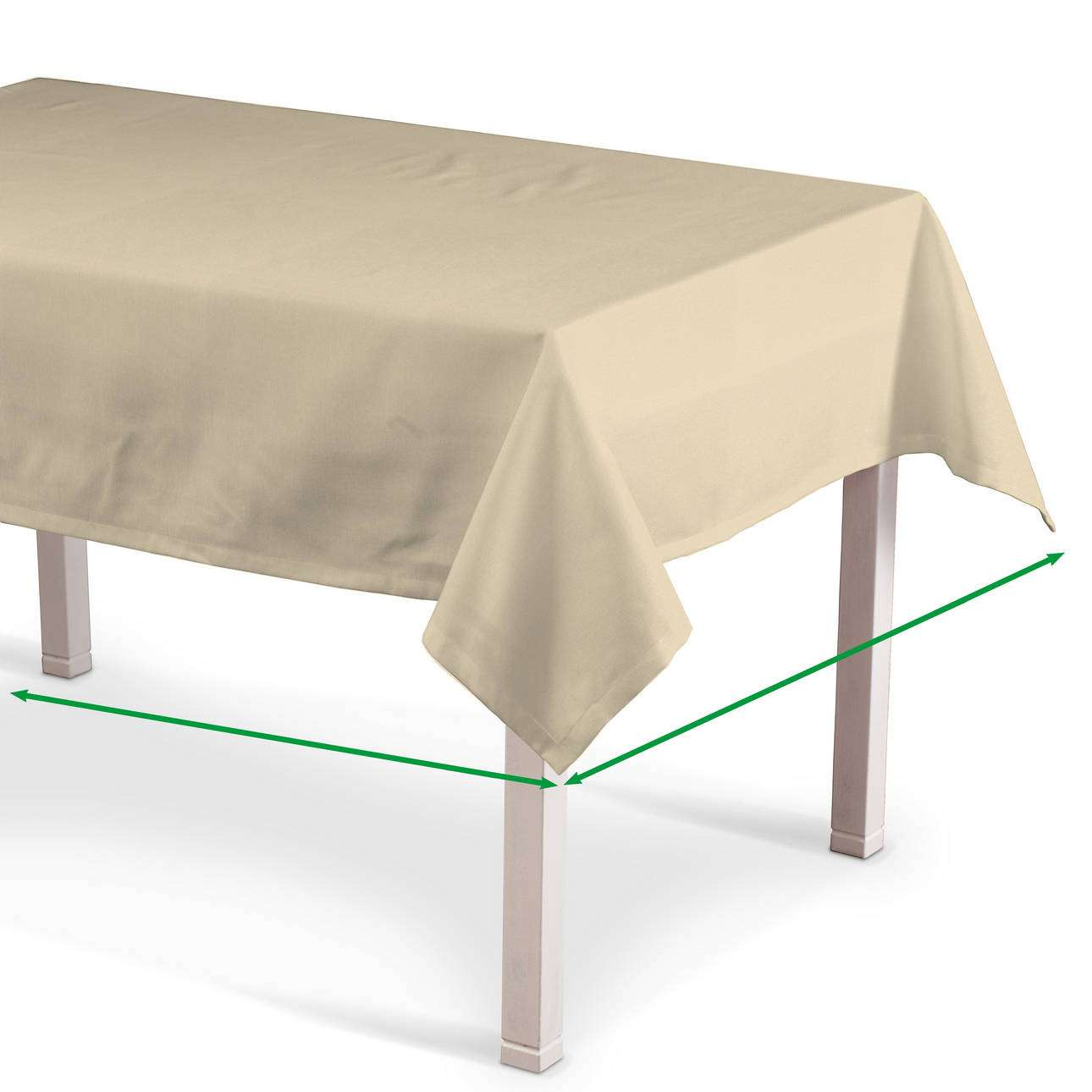 Rectangular tablecloth in collection Damasco, fabric: 141-73