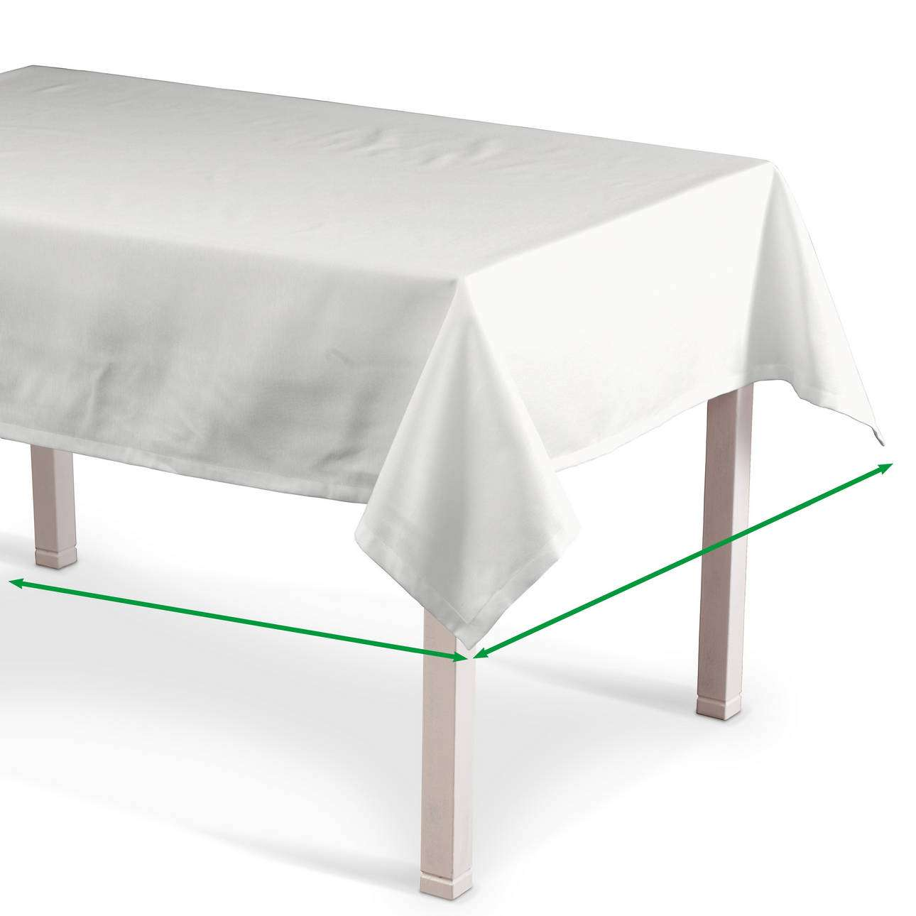 Rectangular tablecloth in collection Damasco, fabric: 141-78