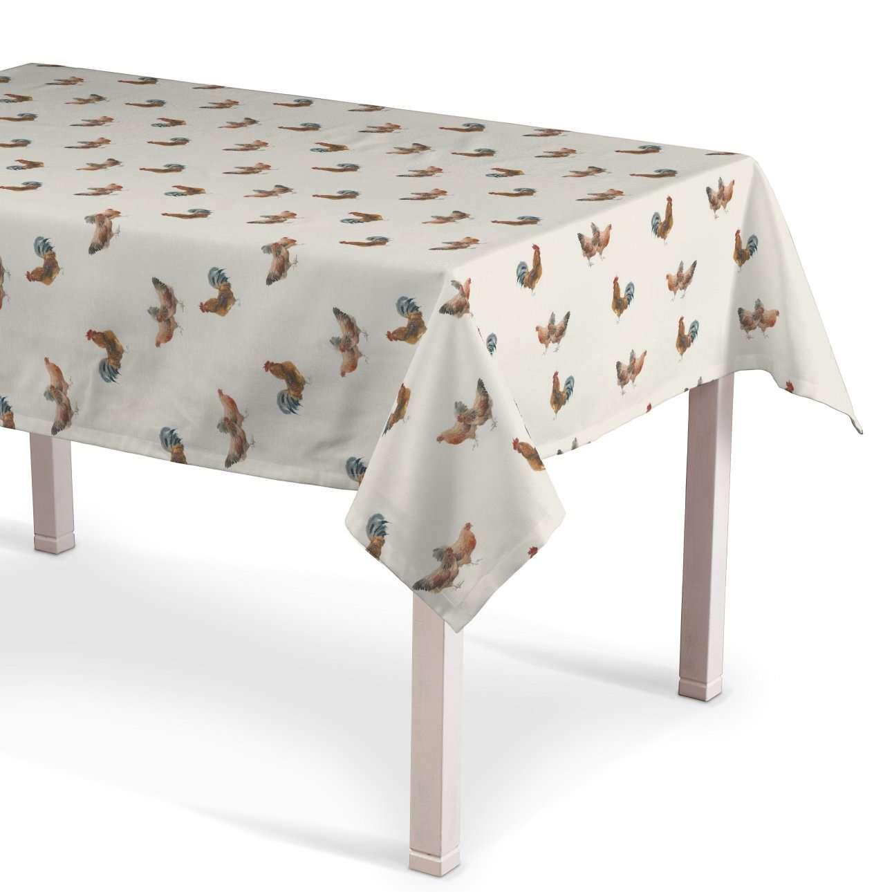 Asztalterítő téglalap alakú a kollekcióból Flowers Lakástextil, Dekoranyag: 141-80