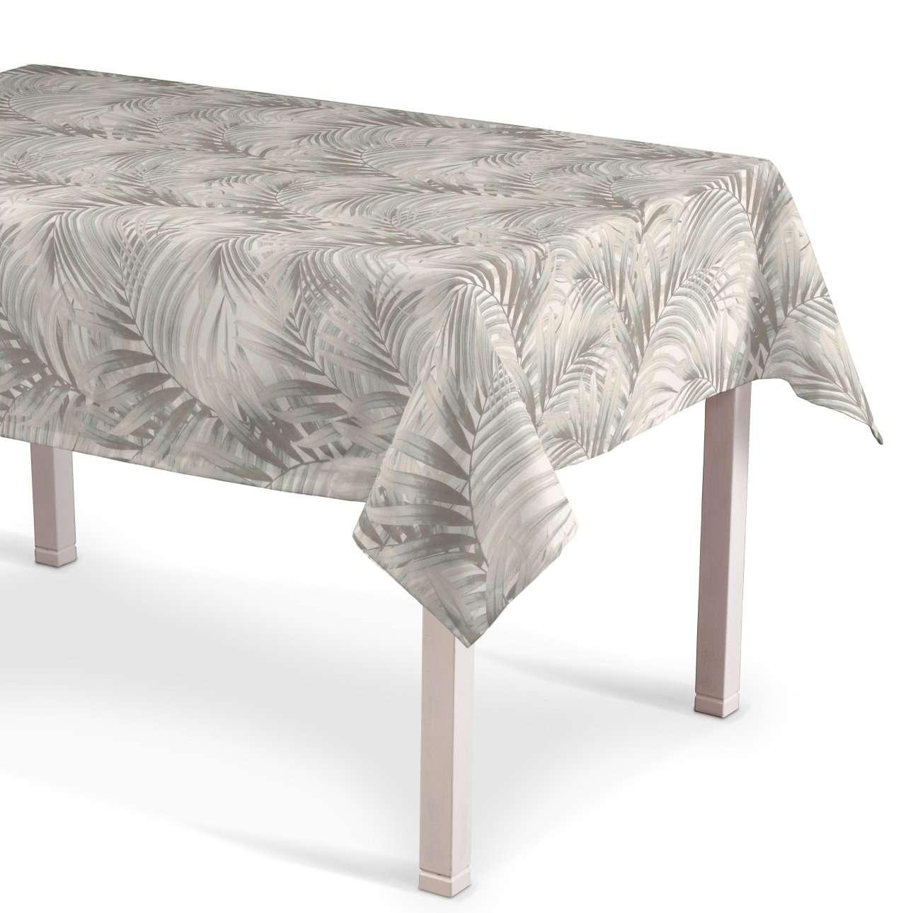 Rektangulær bordduk fra kolleksjonen Gardenia, Stoffets bredde: 142-14