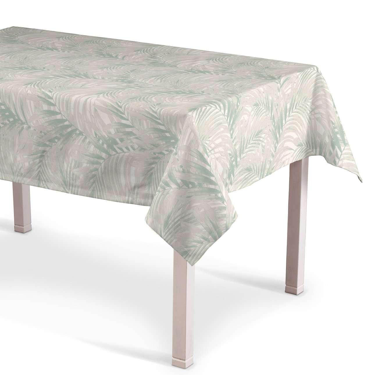 Rechthoekig tafelkleed van de collectie Gardenia, Stof: 142-15