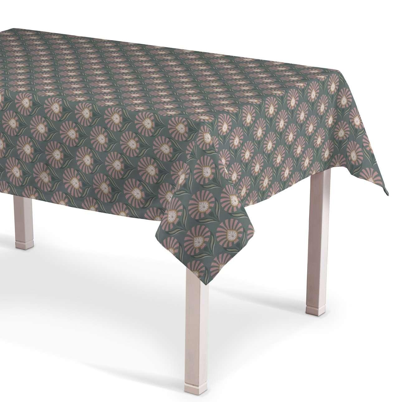 Obrus na stôl obdĺžnikový V kolekcii Gardenia, tkanina: 142-17