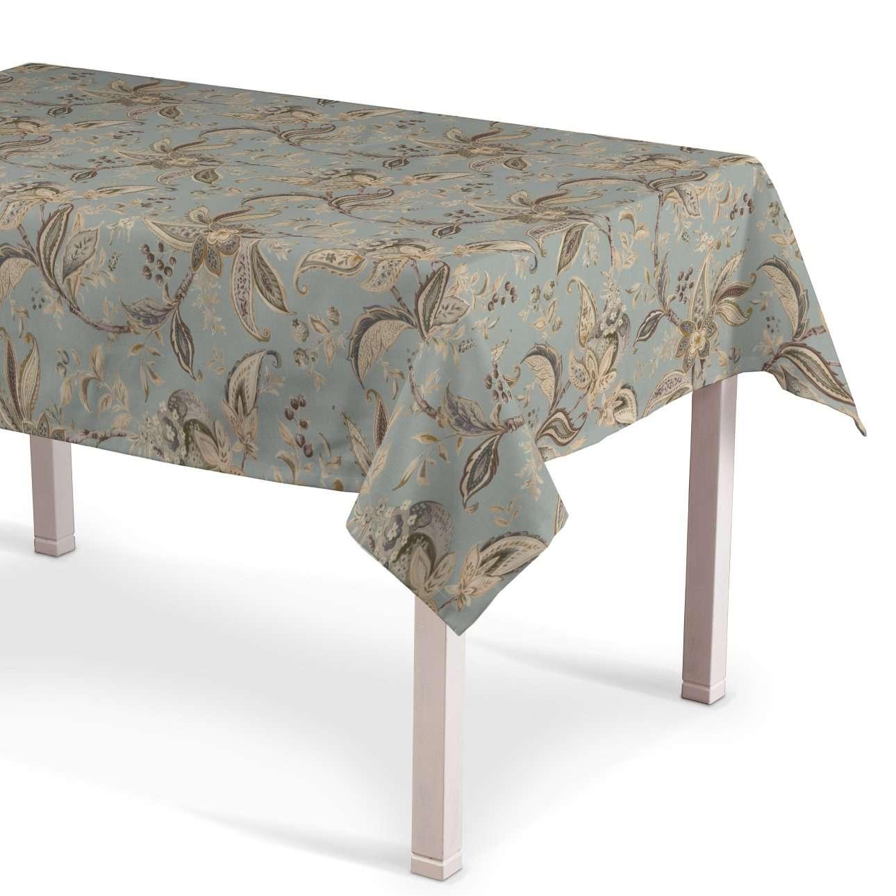 Rektangulær bordduk fra kolleksjonen Gardenia, Stoffets bredde: 142-18