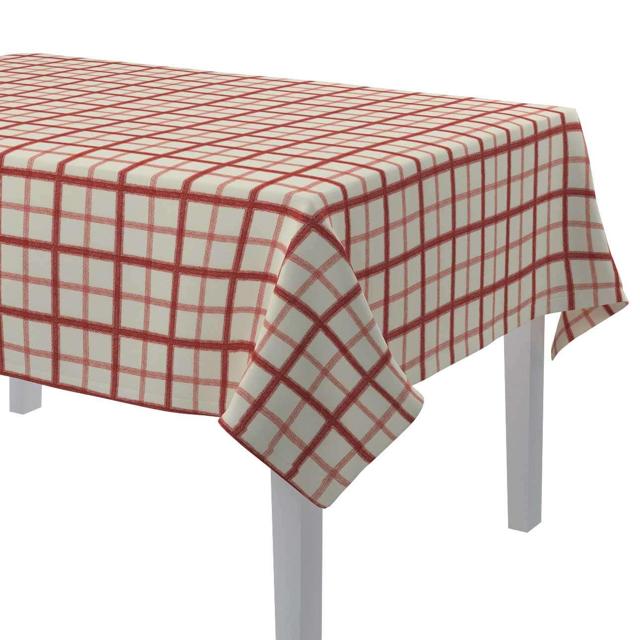 Rektangulär bordsduk i kollektionen Avinon, Tyg: 131-15